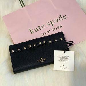 Authentic KS Laurel Way Jeweled Stacy Wallet